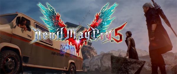 Devil May Cry 5 - title