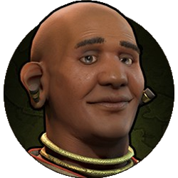 Civilization VI - Jayavarman VII portrait