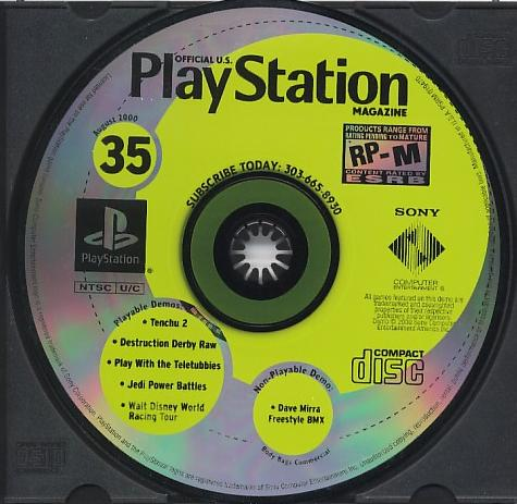 Official PlayStation Magazine demo disc 35