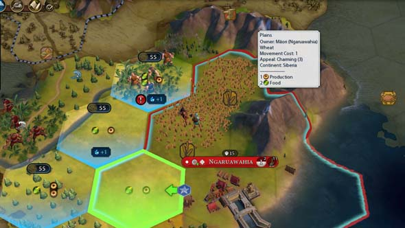 Civilization VI - cannot build district on resource