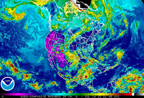 NOAA - weather North America