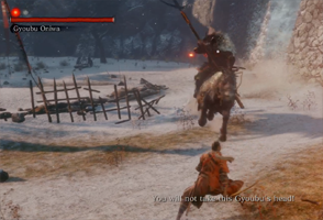 Sekiro - boss fight