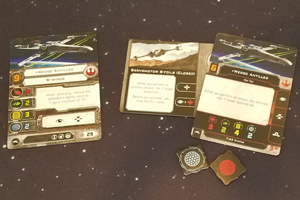 X-Wing 2nd ed - cards and shields