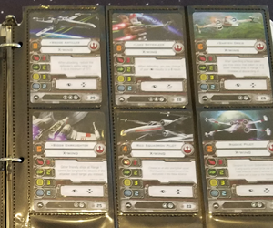 X-Wing 1st ed - squad points