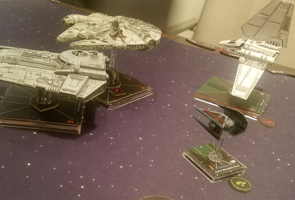 X-Wing 2nd ed - turret