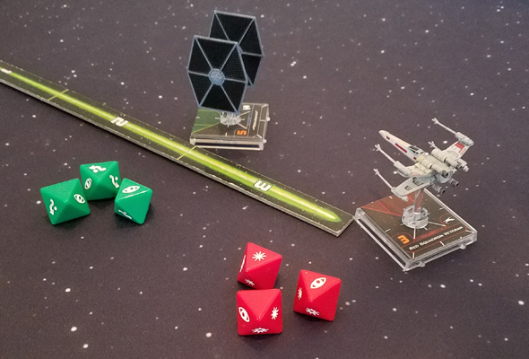 X-Wing 2nd ed - dice