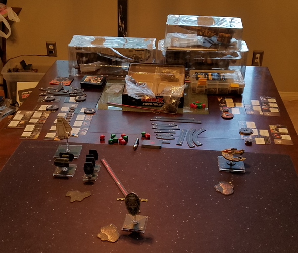 X-Wing 2nd ed - epic ships