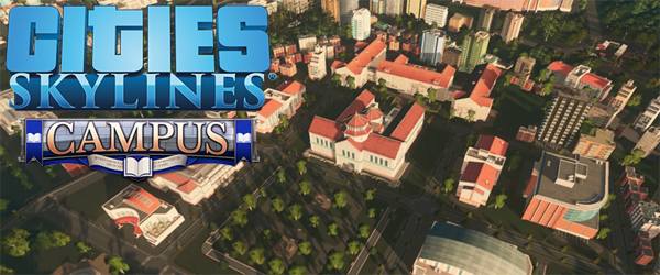 Cities: Skylines: Campus- title