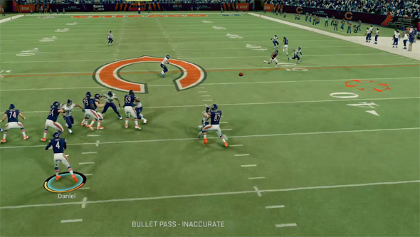 Madden 20 - inaccurate pass