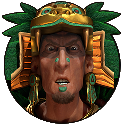 Civilization VI - Montezuma portrait