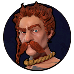 Civilization VI - Ambiorix portrait