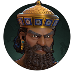 Civilization VI - Hammurabi portrait