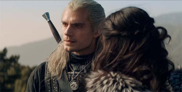 The Witcher (Netflix) - Geralt grumpy face