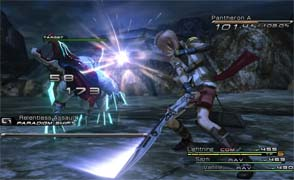 Final Fantasy XIII - battle