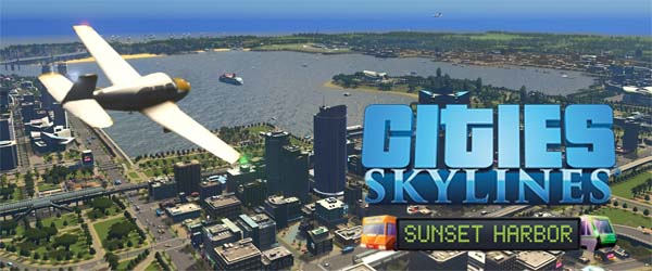 Cities Skylines: Sunset Harbor - title