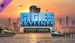 Cities Skylines: Sunset Harbor - cover
