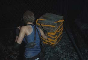 Resident Evil 3 Nemesis remake - crate