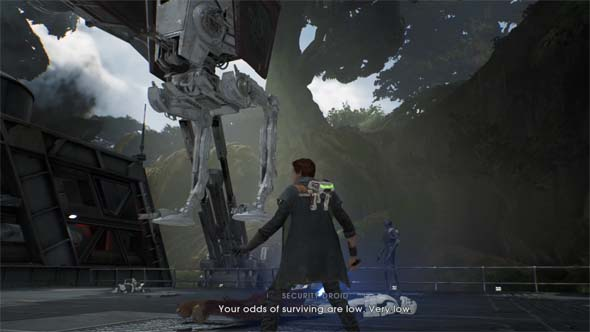 Jedi Fallen Order - odds of dying