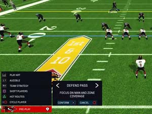 Axis Football 2019 - team strategy change
