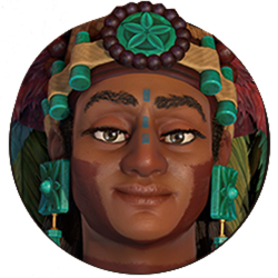 Civilization VI - Lady Six Sky portrait