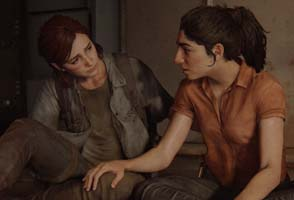 The Last of Us Part II - Ellie and Dina