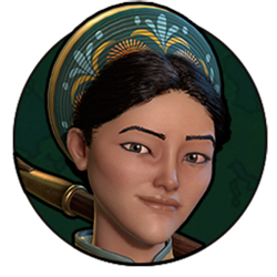Civilization VI - Ba Trieu portrait