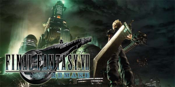 Final Fantasy VII Remake - title