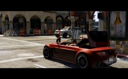 Grand Theft Auto V - Convertible with retractable roof