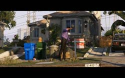 Grand Theft Auto V - A house being foreclosed