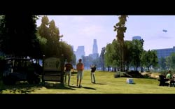 Grand Theft Auto V - Playing golf