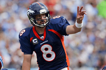 Kyle Orton was released from the Broncos this week
