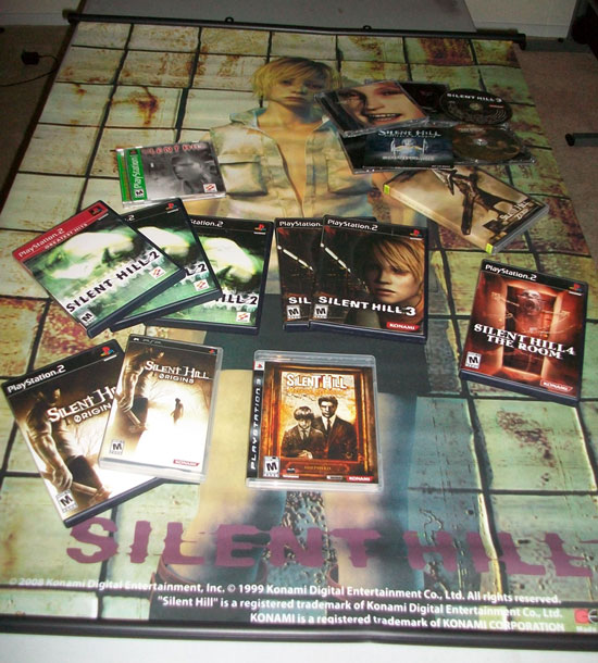 My Silent Hill collection