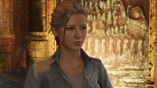 Uncharted 3 - Elena Fisher (suddenly looks half-Asian)