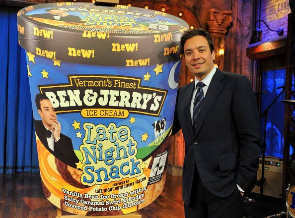 Jimmy Fallon ice cream