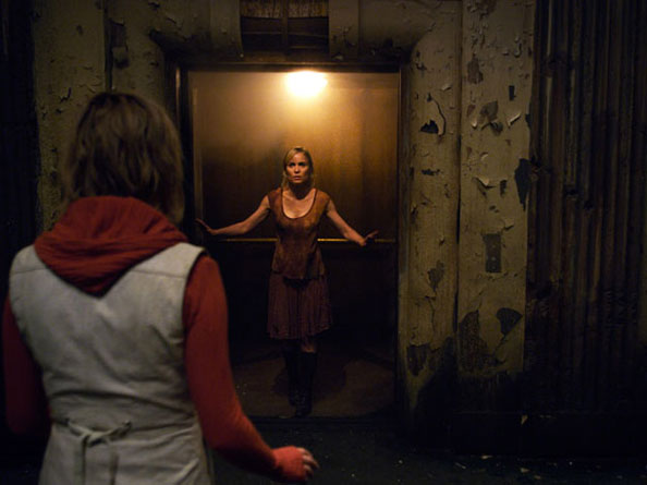 Rose meets Heather in Silent Hill 2 movie