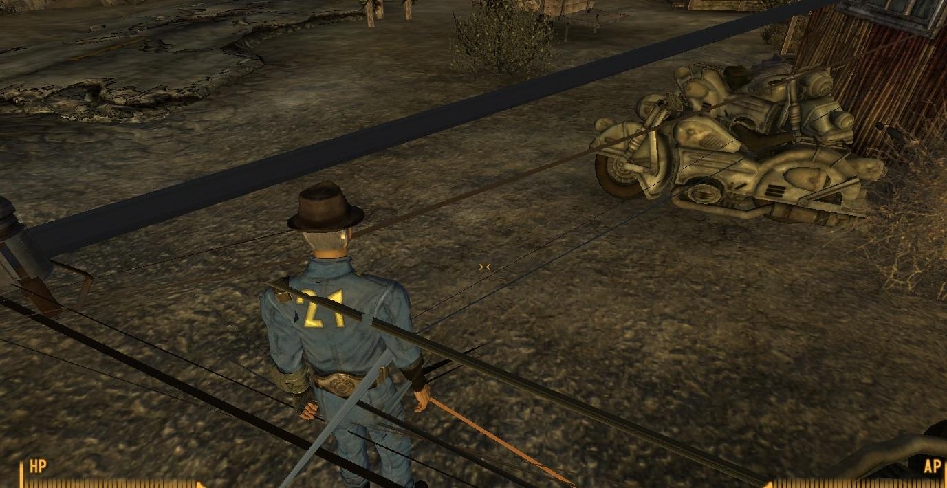 Fallout new vegas casino weapons glitch
