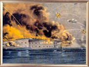 Firing on Ft. Sumter