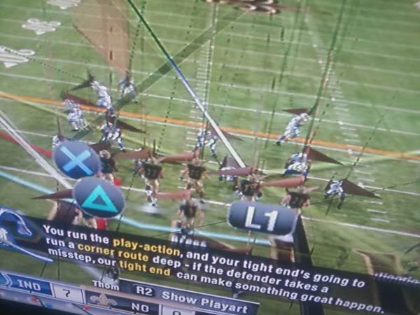 Madden 11 graphics glitch