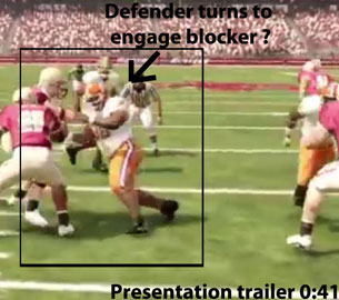 NCAA 12 lineman forced engagement