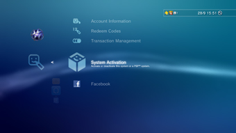 PS3 system activation - what is it for?