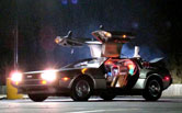 Back to the Future DeLorean time machine