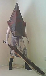 My Pyramid Head cosplay (2010-2011)