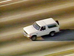 O.J. Simpson car chase (1994)