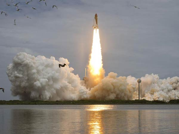 Atlantis shuttle launch July 8, 2011