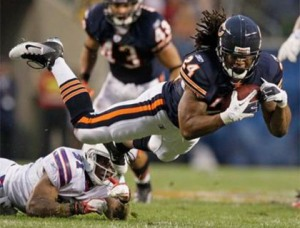 Bears 10, Bills 3 - Marion Barber looked impressive
