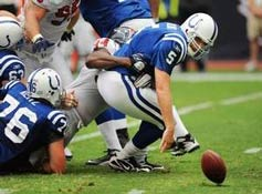 Kerry Collins debut with the Colts is not pretty
