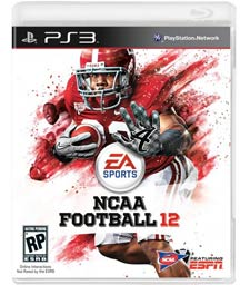 NCAA Football 12 box art