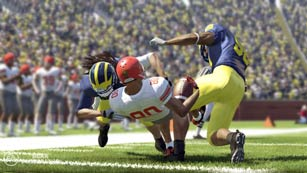 NCAA Football 12 - tackles look much more realistic this year.