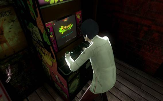 Catherine - Rapunzel arcade side-game