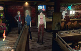 Catherine - The Stray Sheep bar, with side characters